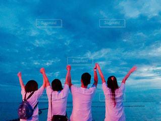 友達との夏の思い出の写真・画像素材[2262517]