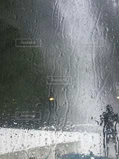 雨,カッパ,土砂降り