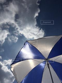 空,傘,屋外,5月