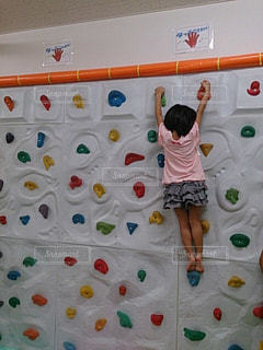 スポーツ,屋内,室内,女の子,運動,インドア,ボルタリング,室内スポーツ,インドアスポーツ