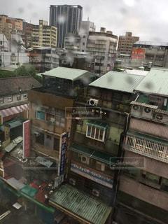 雨,屋外,旅行,台湾,水溜り,日中,大雨,びしょびしょ