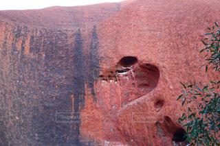 ピンク,赤,綺麗,山,ハート,岩,旅,オーストラリア,一人旅,ロック,優雅,コンテスト,旅先,フォトコンテスト,ハートフォト