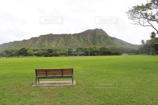 自然,風景,空,公園,屋外,太陽,緑,草原,ベンチ,山,景色,光,草,椅子,テーブル,樹木,新緑,家具,高原,草木,眺め,日中,クラウド,特等席