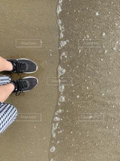 風景,海,砂浜,砂場