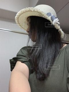帽子をかぶった人の写真・画像素材[2285256]