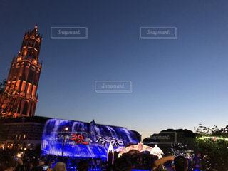 ハウステンボスの夜景の写真・画像素材[2260938]