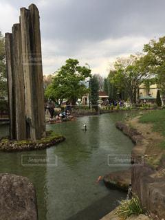 ハーブ庭園の散歩の写真・画像素材[2278774]