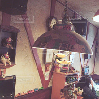 旅先の喫茶店の写真・画像素材[2433801]