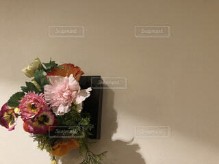 花飾りの写真・画像素材[4636164]