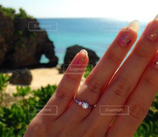 沖縄,ハート,岩,婚約指輪,マーク,プロポーズ,エンゲージリング