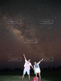 沖縄の星空の写真・画像素材[3371332]