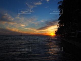 夕焼けの写真・画像素材[3395292]