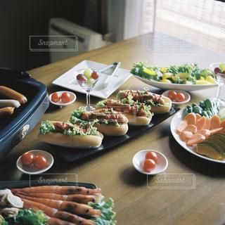 ある日のお昼ご飯。の写真・画像素材[2603844]