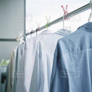 洗濯で衣替えの写真・画像素材[3310221]