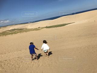 自然,海,空,砂丘