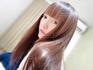 美髪の彼女。の写真・画像素材[2290290]