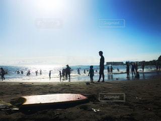 葉山のビーチ。の写真・画像素材[2356153]