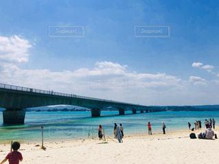 自然,海,空,橋,ビーチ,海岸,沖縄,古宇利大橋,古宇利島,恋島