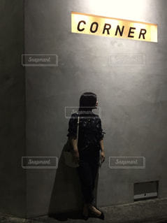 night cornerの写真・画像素材[2232710]