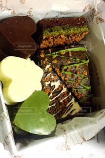 食べ物,ケーキ,ハート,チョコレート,たくさん,手作り,マーク,物