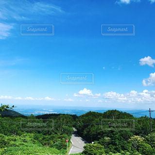 大きな緑の野原の写真・画像素材[2269309]