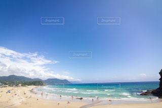 下田のビーチの写真・画像素材[2338385]