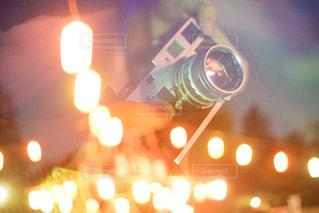 盆踊りの風景とフィルムカメラの写真・画像素材[2453750]