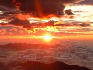 自然,風景,アウトドア,空,太陽,朝日,山,光,登山,山頂,雲海,日の出