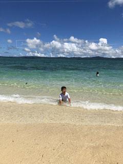 沖縄 古宇利島の海の写真・画像素材[2331579]