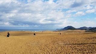 広大な砂丘の写真・画像素材[2343208]