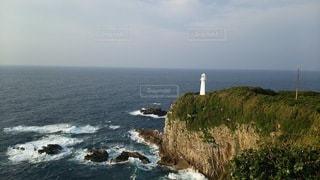 岬の灯台の写真・画像素材[2343207]