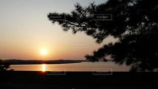松島の夜明けの写真・画像素材[2343215]