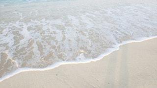 波打ち際の写真・画像素材[2985036]