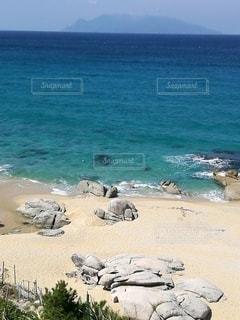 私の好きな静かな砂浜の写真・画像素材[2254139]