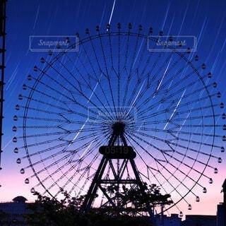 星の光のクローズアップの写真・画像素材[4754336]