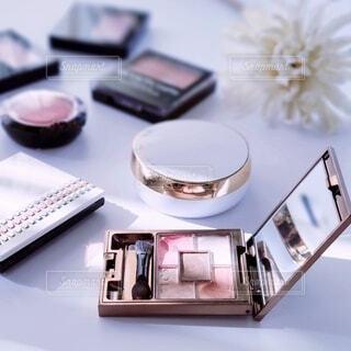 化粧雑貨のクローズアップの写真・画像素材[4907155]