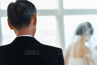 花嫁と父の写真・画像素材[2278039]