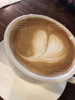 カフェ,コーヒー,散歩,ハート,オシャレ,旅行,旅,カップ,珈琲,喫茶店,ラテ,のんびり,ラテアート可愛い