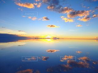 ウユニ塩湖の写真・画像素材[2648628]