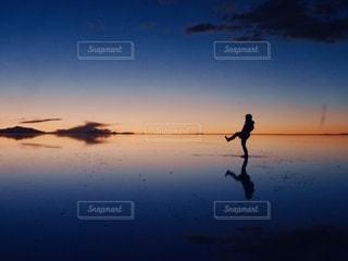 ウユニ塩湖の写真・画像素材[2648659]