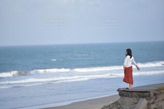 プライベートビーチの写真・画像素材[2366003]