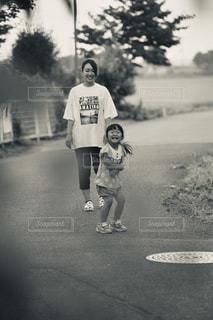 夕方散歩の写真・画像素材[2369722]