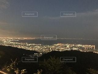 六山頂からの夜景の写真・画像素材[2719140]