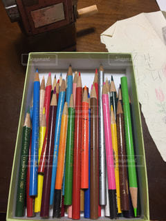 色鉛筆の写真・画像素材[2301611]