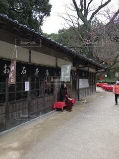 散歩,小江戸,茶屋,一休み
