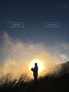 空の雲の写真・画像素材[2290433]