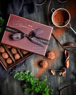 大好きなラメゾンデュショコラのチョコレートの写真・画像素材[2846553]