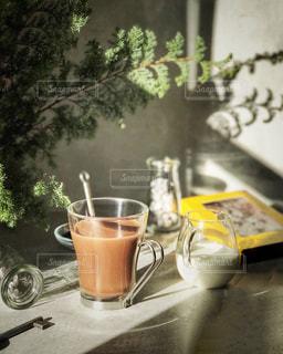 ラメゾンデュショコラの濃厚ショコラショーの写真・画像素材[2847725]