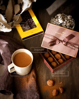 ラメゾンデュショコラの濃厚ショコラの写真・画像素材[2847762]