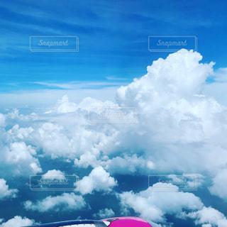 空に雲の群しをするの写真・画像素材[2286883]